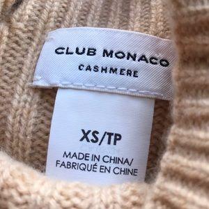 Club Monaco Sweaters - Club Monaco Caramel Cream Cashmere Sweater